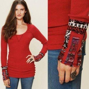 Free People Hyperactive Cuff Thermal Size Medium